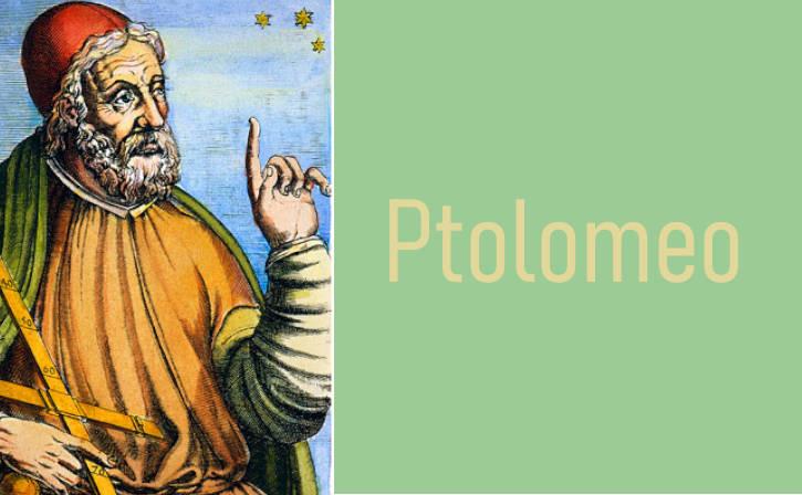 Claudio Ptolomeo matemático famoso
